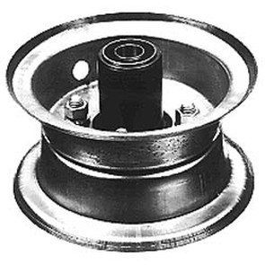 """8-373-H2 - 6"""" Front Demountable Wheel Assembly"""