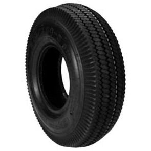 8-906 - 410 X 350 X 4 Sawtooth Tire 2 Ply Tubeless