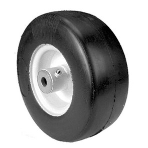 "8-9899 - Puncture Proof 9x350x4 Tire Wheel Asm. 4"" centered hub. 3/4"" ID."