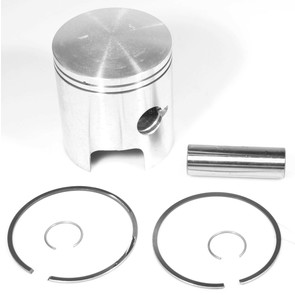 09-666-4 - OEM Style Piston Assembly; John Deere Liquifire, JDX-8, Cyclone 440. CCW / Kioritz Engine. .040 ovesized.