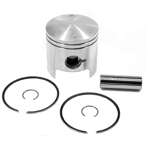 09-717 - OEM Style Piston assembly for Polaris 340 Twin. Double Ring