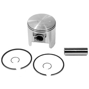 09-741-1 - OEM Style Piston Assembly, 79-newer Ski-Doo 270 single and 497 twin. .010 oversize.