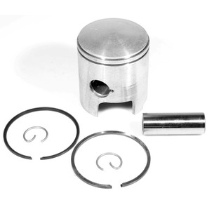 "09-747-1 - OEM Style Piston assembly. 72-79 Ski-Doo & Moto-Ski 340 twin. Left Piston. 010"" oversized"