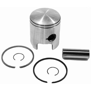 09-748-1 - OEM Style Piston assembly. 72-79 Ski-Doo & Moto-Ski 340 twin. Right Piston. .010 oversize.