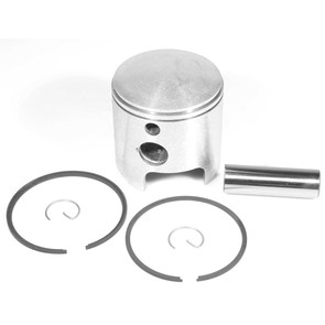 09-758 - OEM Style Piston assembly. 74-79 Ski-Doo & Moto-Ski 440 twin. Std size. Left Piston