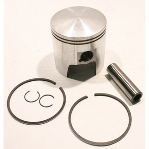 09-763 - OEM Style Piston assembly. 69-82 Ski-Doo 640cc twin. Right Piston. Std size.