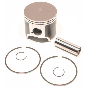 09-828P - OEM Style Piston assembly, 98-03 Yamaha 698cc triple. Std size.