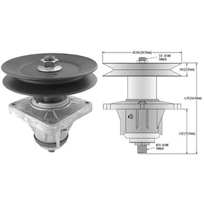10-12967 - Spindle Assembly for Cub Cadet