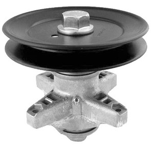 """10-13001 - Spindle Assembly for Cub Cadet model LT series, 42"""" Decks w/Round Hole Blades"""