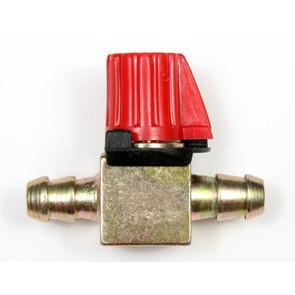 "11-6294 - Universal Straight Shut-Off Valve, knob. For 5/16"" fuel line."