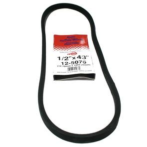 "12-5076-H2 - Replaces Gilson Snowblower Belt 17569 (8 & 11 hp). 1/2"" x 43"""