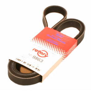 12-9863 - Exmark Pump Drive Belt. Replaces 633569