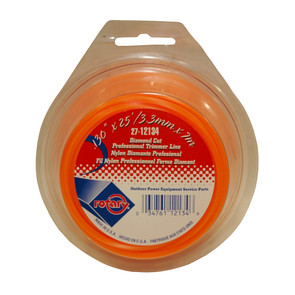 27-12134 - Orange Diamond Cut Professional Trimmer Line