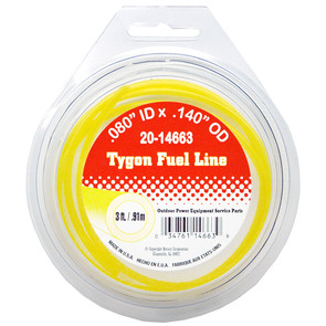 20-14663 - Cut Length of Tygon Fuel Line