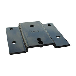 1532SW - Winch Mount Plate for 2 Bolt Pattern Winches for Various 2003-2007 Kawasaki Mule UTV Model's