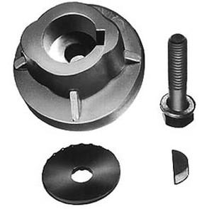 "17-1184 - Sensation & Bob Cat blade adaptor. For 1"" crankshaft"