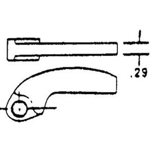 208457A1 - Cam Arm AB-2 (47.7 grams)