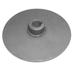 "212369A - 6-3/8"" Dia Disc & Hub, 1"" Bore, 1/4"" key with setscrew"