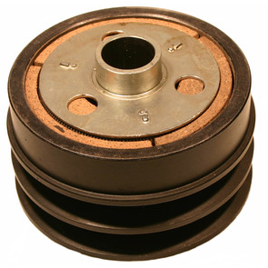 "212184A - Comet Industrial Cast Iron Double Pulley Centrifugal Clutch. 1"" bore, 1/4"" integrated key"