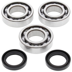 24-1077 Aftermarket Crankshaft Bearing & Seal Kit for 1988-1992 Polaris 250 Model ATV's
