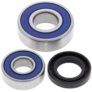 25-1043 - Suzuki Front Wheel Bearing Kit with Seals. Fits most 1985-1989 LT-230, LT-250, LT-300 and LT-F230 ATVs