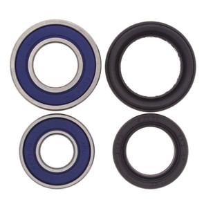 25-1083- Honda Front Wheel Bearing Kit with Seals. Fits many TRX250X/EX, TRX400X/EX and TRX450ER/ERF/R ATVs