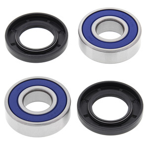 25-1104 - Polaris 85-86 Scrambler and Yamaha 82-86 YFM80, YT175, YTM200 and YTM225DR/DX Front Wheel Bearing Kit with Seals.