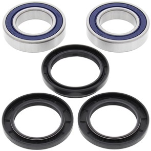 25-1122 - Honda ATC110/125/185/200/250R and Suzuki ALT-125/185, LT-125/160/185 Rear Wheel Bearing Kit with Seals.