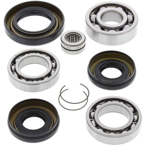 25-2001 Aftermarket Front Differential Bearing & Seal Kit for Various 1988-2005 Honda & Yamaha 300, 350, and 400 4WD ATV Model's