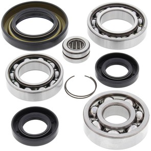 25-2002 Honda Aftermarket Front Differential Bearing & Seal Kit for 1987-1989 TRX350 & TRX350D 4WD ATV Model's