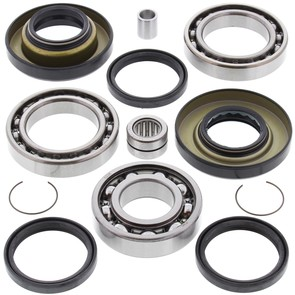 25-2009 Honda Aftermarket Rear Differential Bearing & Seal Kit for Various 1997-2019 TRX250 ATV Model's