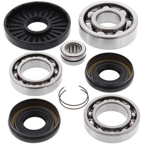 25-2016 Kawasaki Aftermarket Front Differential Bearing & Seal Kit for 1997-2002 KVF300A & KVF400 Prairie 4x4 ATV and 2005-2016 Mule 610 4x4 UTV Model's