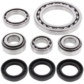 25-2022 Aftermarket Front Differential Bearing & Seal Kit for Various 1987-2002 Arctic Cat and Suzuki 250, 300, 400, 454, and 500 4x4 ATV Model's