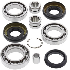 25-2060 Honda Aftermarket Front Differential Bearing & Seal Kit for Various 2003-2019 TRX500, TRX650, and TRX680 4x4 ATV Model's