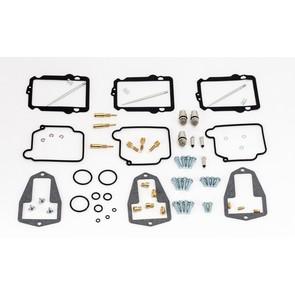 26-10039 Yamaha Aftermarket Carburetor Rebuild Kit for Various 1999-2006 600 Triple Cylinder Model Snowmobiles