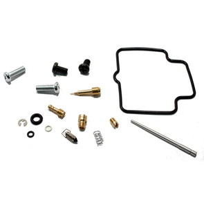 Complete ATV Carburetor Rebuild Kit for 02-14 Suzuki LT-F250 Ozark