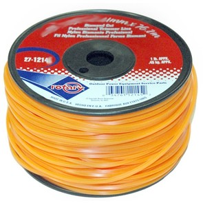 27-12147-Orange Diamond Cut Professional Trimmer Line