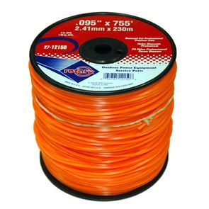 27-12150 - Orange Diamond Cut Professional Trimmer Line