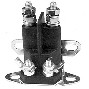 31-10772sn - Universal Starter Solenoid. 4 pole, 12 volt. Replaces Snapper 18604