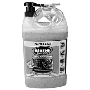 33-10909 - 1 Gallon Slime Tire Sealant w/pump.
