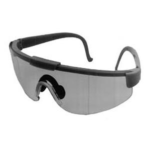 32-8618 - Clear Lens, Green Frame Safety Glasses