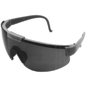 32-8619 - Gray Lens Green Frame Safety Glasses