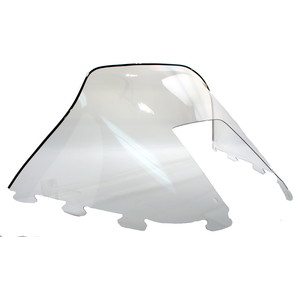 "450-231-01 - Polaris Medium 12"" Windshield Clear. Old Generation Style Hood."