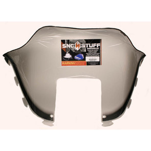 "450-231-03 - Polaris Medium 12"" Windshield Graphic Smoke. Old Generation Style Hood."