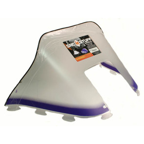 "450-231-16 - Polaris Medium 12"" Windshield Graphic Purple. Old Generation Style Hood."