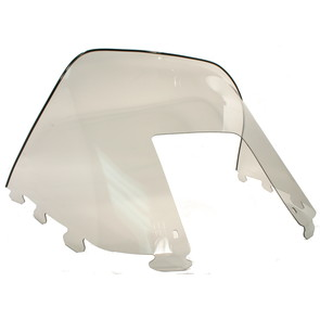 "450-231 - Polaris Medium 12"" Windshield Smoke. Old Generation Style Hood."