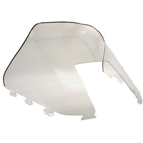 "450-232 - Polaris Standard 15-1/2"" Windshield Clear. Old Generation Style Hood."
