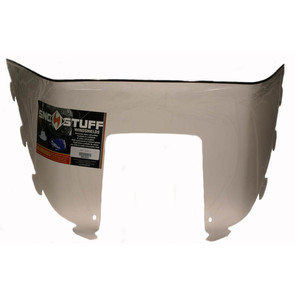 "450-233 - Polaris Low 9"" Windshield Smoke. Old Generation Style Hood."