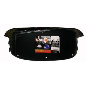 "450-240-50 - Polaris Low 9-1/2"" Windshield Black. New Generation Style Hood."
