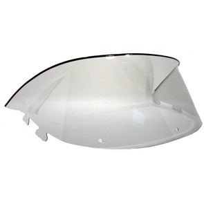 "450-240 - Polaris Low 9-1/2"" Windshield  Smoke. New Generation Style Hood"
